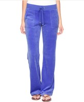 Juicy Couture Bling Bootcut Velour Pant