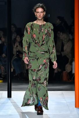 Preen by Thornton Bregazzi Ofira floral maxi dress