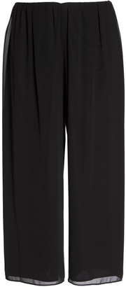 Alex Evenings Wide Leg Chiffon Pants