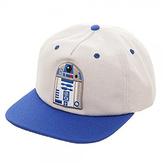 Bioworld Blue & White R2-D2 Wool-Blend Baseball Cap
