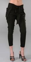 Mason By Michelle Mason Belted Pants