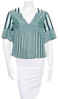 Clover Canyon Stripe Print Top w/ Tags