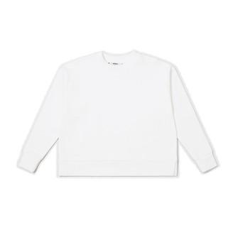 Wemoto White Alona Sweatshirt - S | cotton | white - White/White