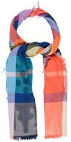 Vivienne Westwood Multicolor Checkered Scarf