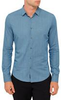 Armani Jeans Denim Stripe Shirt
