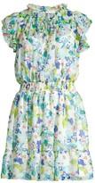 Shoshanna Amine Floral Ruffle Dress