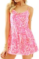 Lilly Pulitzer Kyla Slip-Dress Romper
