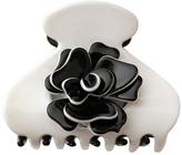 Smallflower Moliabal Milano Black + White Flower Clip