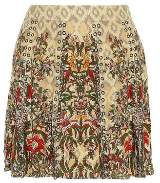 Haute Hippie Mini skirt
