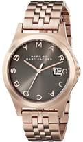 Marc Jacobs Marc by Women's MBM3350 Rose Gold-Tone Stainless Steel Bracelet Watch