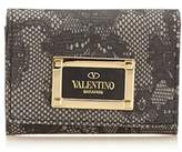 Valentino Pre-owned: Lace Pvc Card Holder.