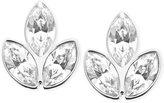 Swarovski Azalea Rhodium-Plated Crystal Pierced Earrings
