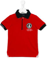 Lapin House - nautical patch polo shirt - kids - Cotton/Tactel - 12 mth