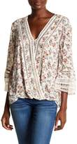 Democracy Floral Bell Sleeve Top