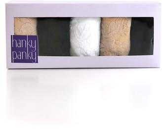 Hanky Panky Five-Pack Original-Rise Thongs