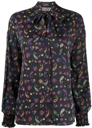 Versace Jeans Couture Paisley Print Shirt
