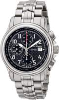Revue Thommen 16041-6137 Men's Airspeed XLarge High Tech Wrist Watch, Dial with Silver Band