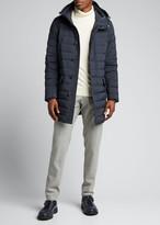 Moncler Men's Arnaud Hooded Puffer Coat
