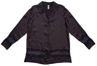 Underprotection - Lulu Pyjama Shirt Dark Grey - S