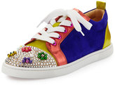 Christian Louboutin Gondocandy Colorblock Low-Top Sneaker, Multi