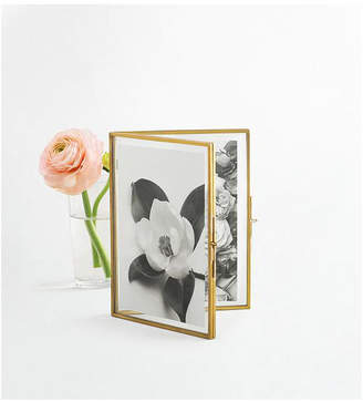 Martha Stewart Closeout! Collection 4x6 Glass Folded Frame