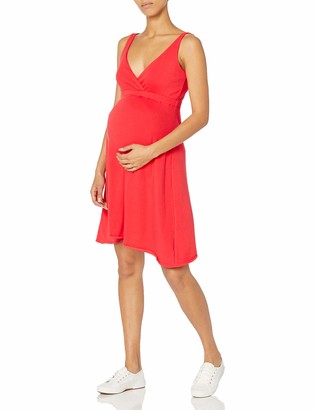 Belabumbum Women's Maternity Essential Nursing Dress