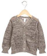 Bonpoint Girls' V-Neck Button-Up Cardigan