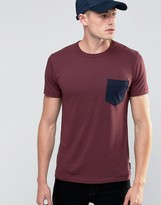 French Connection Contrast Pocket T-Shirt