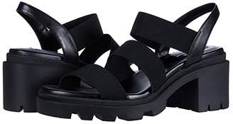 Steve Madden Jennica Heeled Sandal (Black) Women's Shoes