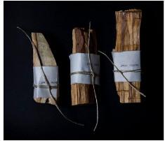 R Y O K O senses salon - Large Palo Santo Thick Piece Wood Stick - Wood