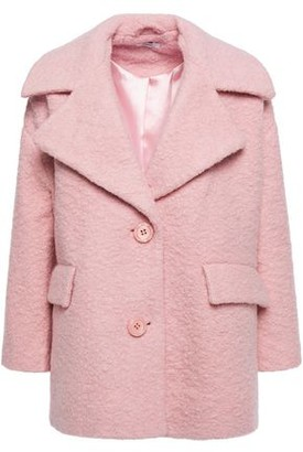 Ganni Fenn Wool-blend Boucle Coat