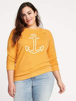 Old Navy Relaxed Plus-Size Vintage Sweatshirt
