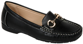 Black Curved-Link Mikayla Loafer
