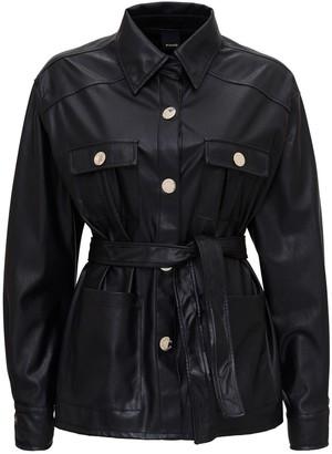 Pinko Leatheret Safari Jacket