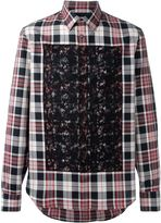 Alexander McQueen checked shirt - men - Cotton - 46