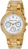 Kenneth Jay Lane Women's 2140 2100 Series Analog Display Japanese Quartz Gold Watch
