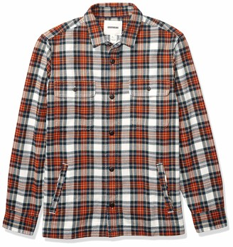 Goodthreads Heavyweight Flannel Shirt Jacket Button
