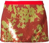 Ungaro sequinned mini skirt