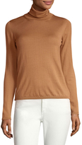 Max Mara Zanna Ribbed Turtleneck Sweater