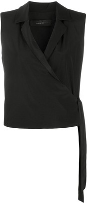 FEDERICA TOSI Sleeveless Wrap Top