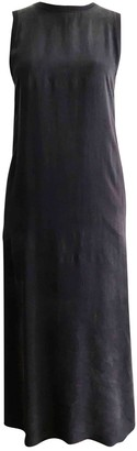 Enza Costa Navy Viscose Dresses