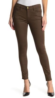 Frame Le Skinny de Jeanne Coated Jeans