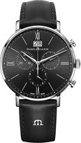 Maurice Lacroix Eliros EL1088-SS001-311 stainless steel and leather watch