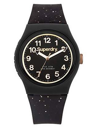 Superdry Unisex Adult Analogue Watch with Plastic Strap SYL167B