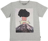Munster Volcano-Print Cotton T-Shirt