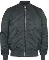 Ps By Paul Smith Me1 Grey Shell Bomber Jacket