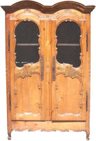 One Kings Lane Vintage French Fruitwood Armoire, C. 1800