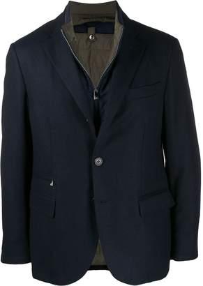 Corneliani zipped blazer