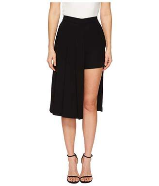 Neil Barrett Hybrid Pleated Panel Skirt/Shorts
