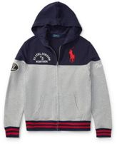 Ralph Lauren Cotton French Terry Hoodie Andover Heather M